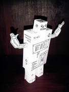 ban the bombs Robot!