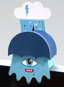 """The """"Blue Lightning"""" Monitor Monster"""