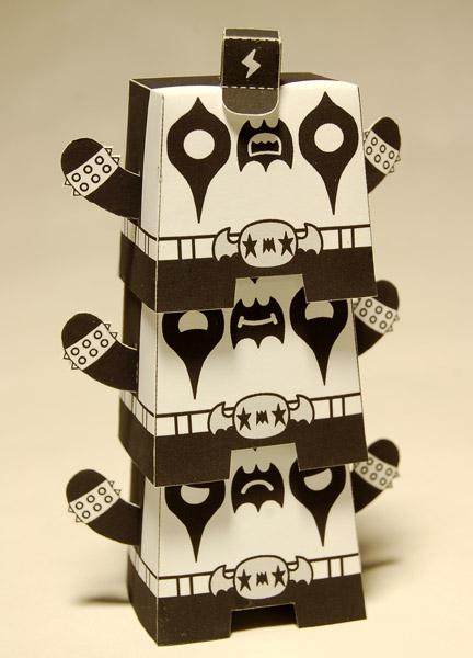 paper totem • by paul shih x dolly oblong