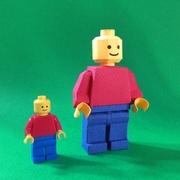 Paper LEGO