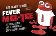 FEVER MEL-TEE Paper Craft Toy