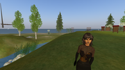 Me in Second Life, known as Vauna Karu
