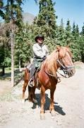 Riding Caramel in Cooper Landing AK