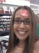 Ashlee doin' some shoppin'