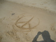 Peace on the beach in MD