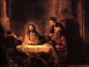 Rembrandt - Jesus - Emmaus