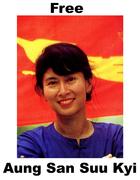 Free Aung San Suu Kyi