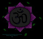 """Omni Om"" by Buddhascii (Jarett)"