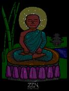 """Zen Bliss"" by Buddhascii (Jarett)"