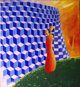 2 get there 3 © Ole A. Seifert, acrylic on canvas