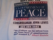 John lewis peace alliance shirt