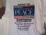 Peace alliance hall of fame shirt