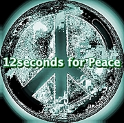 12seconds for Peace logo