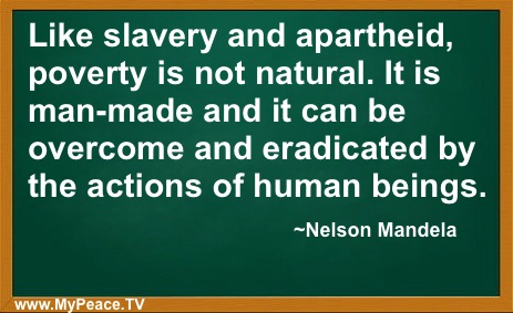 Nelson Mandela's Thoughts About Poverty