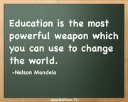 Nelson Mandela - Education