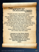 Apostle's Creed 390AD