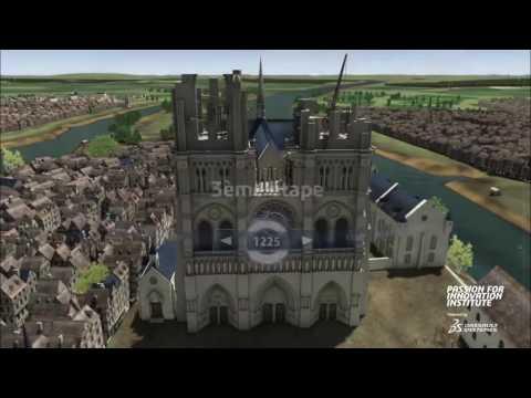 Notre dame de Paris (construction)