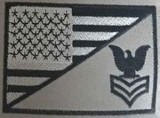 Petty Officer First Class Amerca Flag patch