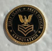 Petty Oficer First Class  Assocission Challange coin