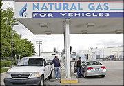 natural gas fillup