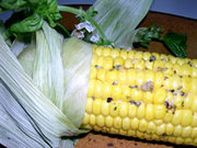 Grilled Corn...cajun style!