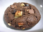 Double-Trouble Chocolate Cookies