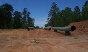 On May 5, 2011, new gas pipeline construction in western Natchitoches Parish, LA