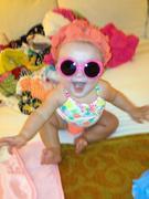 Lola Grace:  Ready, set, swim