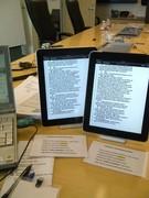 iPad realtime!