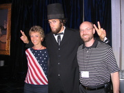 Hanging with Abe in DC 07