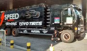 Robby Gordon's Support Truck
