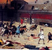 Christian Persecution in Coliseum