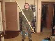 Commando Joe with Bo Staff