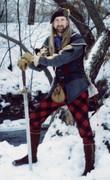 Highlander in winter