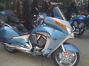 2009 Victory Vision Ice Blue