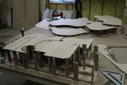 Scale model construction.