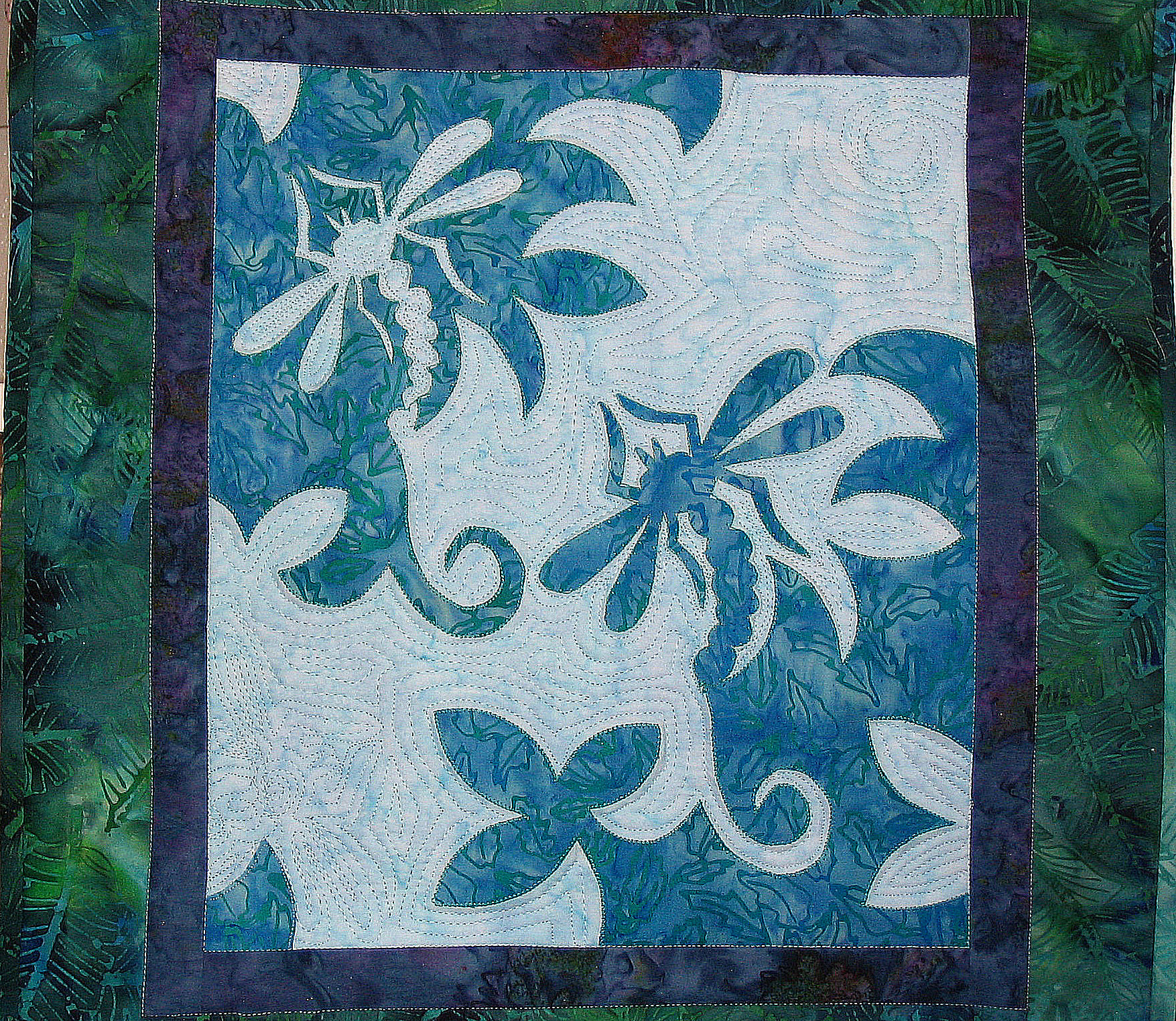 dragonfly quilt  'Beauty in Flight'
