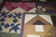 Thimbleberries 2007 House and Garden Quilt Close Up