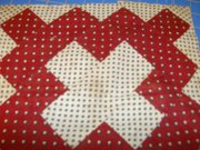 Old hand pieced block (front)