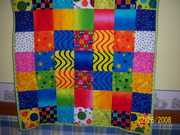 Quilt for My 2year old Twin granddaughters