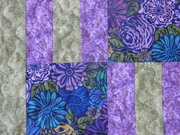 Purple and Green close up 2