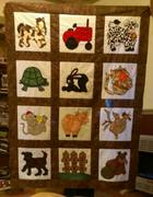 Baby quilt for Brantley