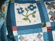 Sample blocks from my two hand quilting projects
