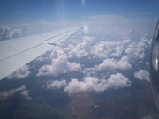 Clouds at ~25k ft.