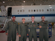 Some of us in front of C-9B