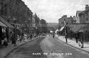 Park Road, Crouch End, Street Scene c 1905 wm