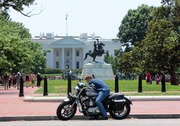 Annual Rolling Thunder Motrocycle Event at White House