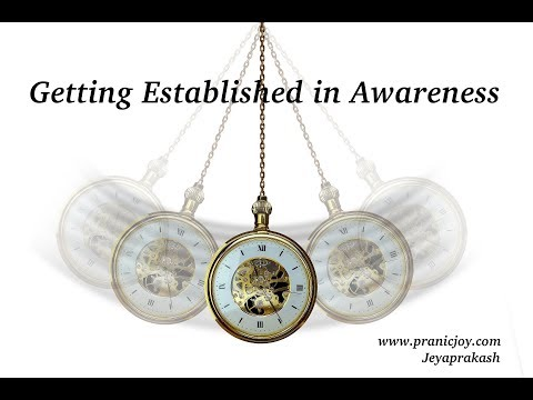Getting Established in Awareness