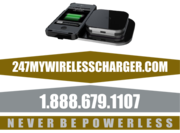 247 My Wireless Charger 24 Hour Power System