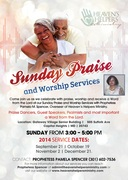 Sunday Praise and Worship Services